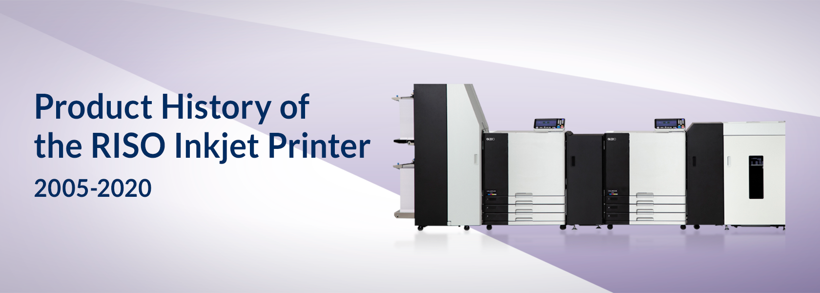 Product History of the RISO Inkjet Printer